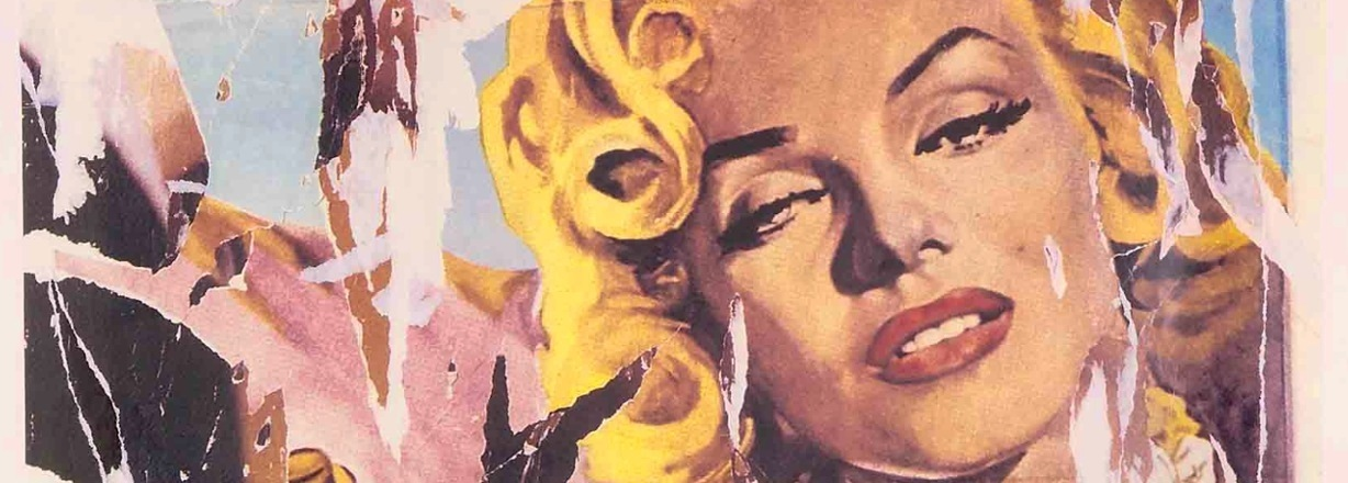 Una vita a 100 all'ora Pop Art Mimmo Rotella